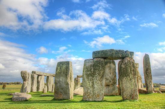 Stonehenge en la tarde