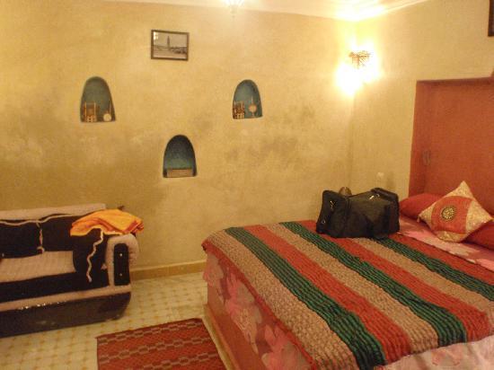 Riad Layla Rouge : Ground floor bedroom