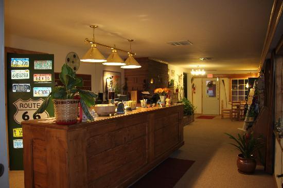 Globetrotter Lodge: Lobby
