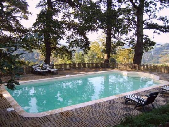 Les Hauts Paturages : Higher Pastures The heated pool