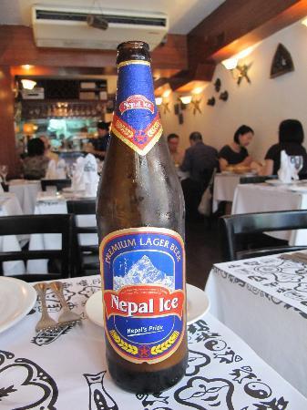 Nepal - Nepalese Cuisine: Icredible Nepal Ice Beer
