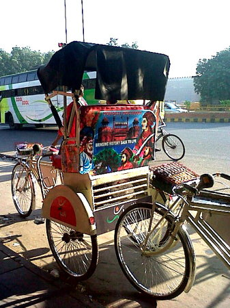 Old Delhi Rickshaw Ride
