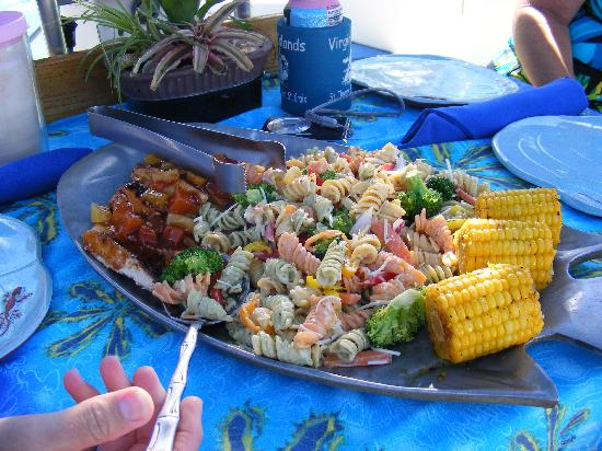 Jester Sailing Adventures: The food is wonderful!