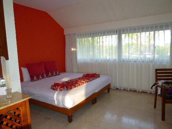 Club Med Bali: 一番ランクの低いスーペリアというお部屋です。めっちゃきれいでした。