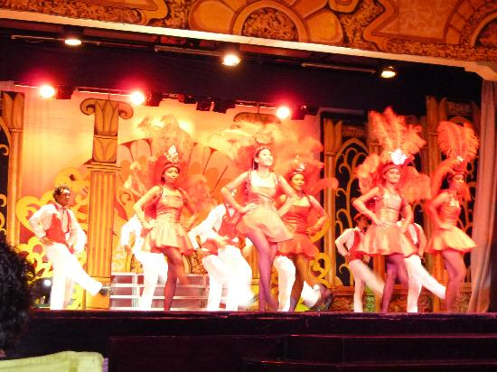 Club Med Bali: ショーです
