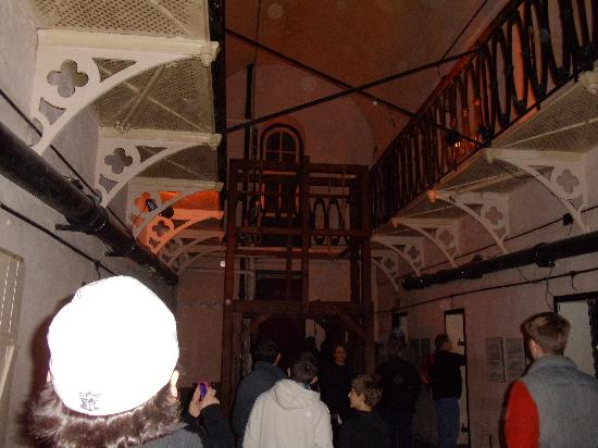 Old Jail Museum: Gallows area - lots of orbs