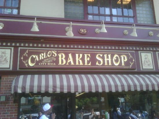 Carlo's Bakery: 95 Washington Ave.   Hoboken NJ