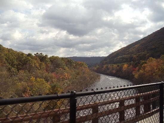 Jim Thorpe, Pensilvania: View from the train