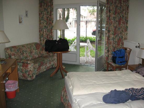 """AKZENT Hotel """"Zur Grünen Eiche"""": unser Zimmer"""