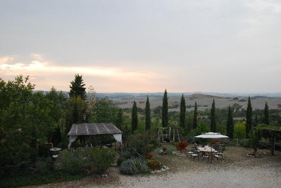 Aia Vecchia di Montalceto: Fantastiska vyer/omgivningar