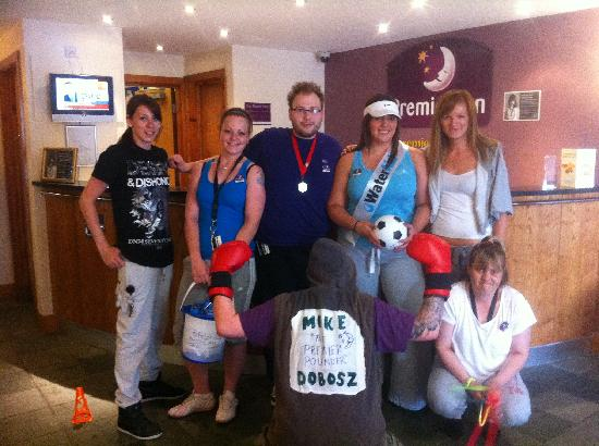 Premier Inn Edinburgh A1 (Newcraighall) Hotel: Premier Inn Team - Charity Sports Day in aid for WaterAid