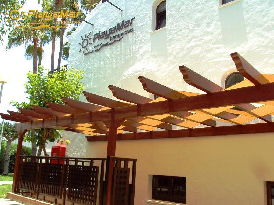 Playamar Bungalows: Entrada