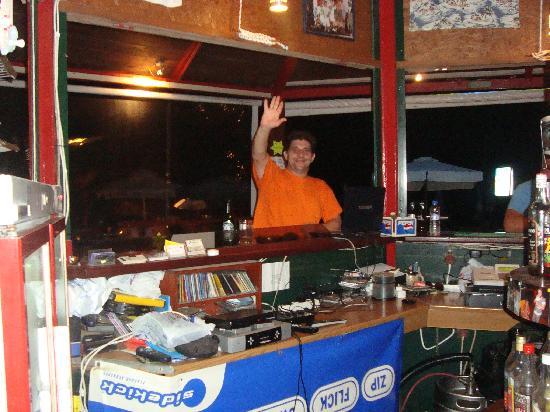 Remezzo Beach Bar: The big boss