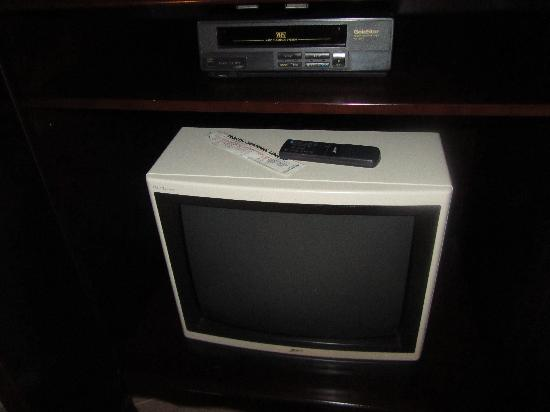 The Cypress Inn at Conway Myrtle Beach : Our ancient TV