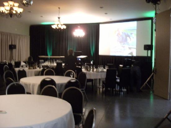 StoneBridge Function Venue Limited: Setting up for conference