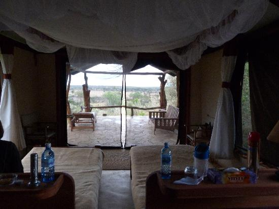 Eagle View, Mara Naboisho: Room with a view