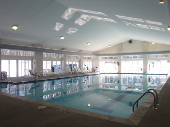 Eagle Village Resort: This is our beautiful pool at the Recreation Center.