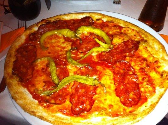 Amici am Gendarmenmarkt: pizza