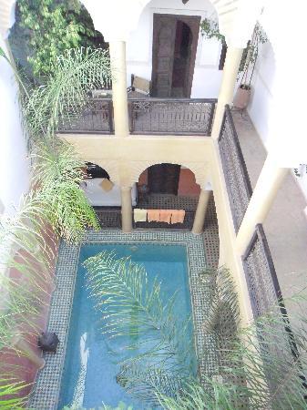 Riad Itrane : La piscine