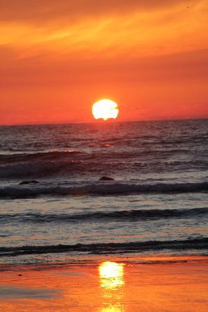 Second Beach Trail: Amazing sunset