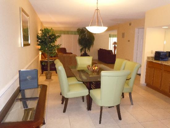 Silver Lake Resort: Entryway to the condo