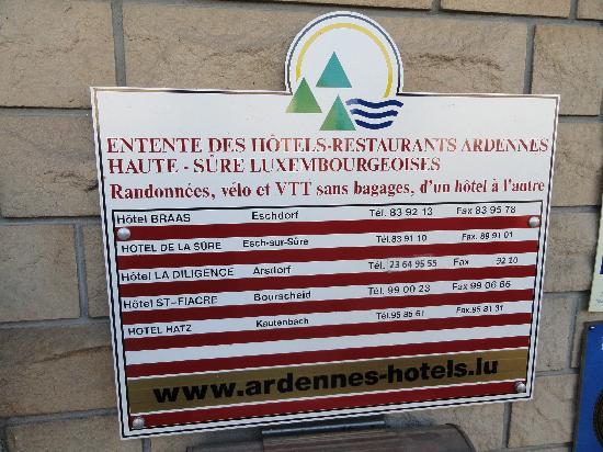 Hotel St Fiacre : Entente des Hotels des Ardennes pour la randonnée pédestres