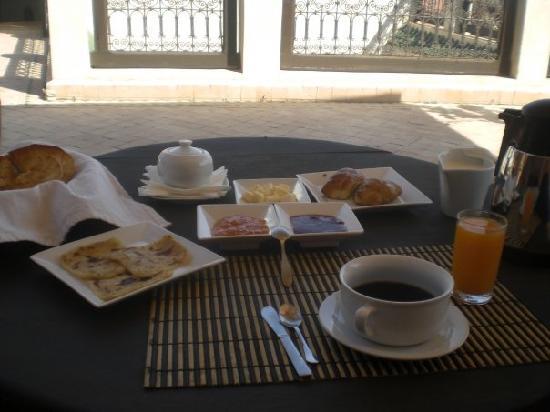 Riad Dar Selen : The Big breakfast