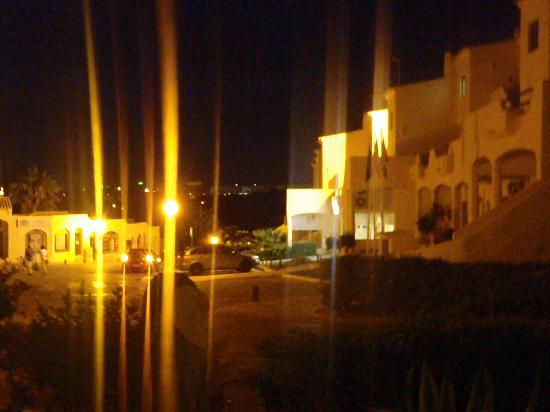 Luna Clube Brisamar: from balcony at night