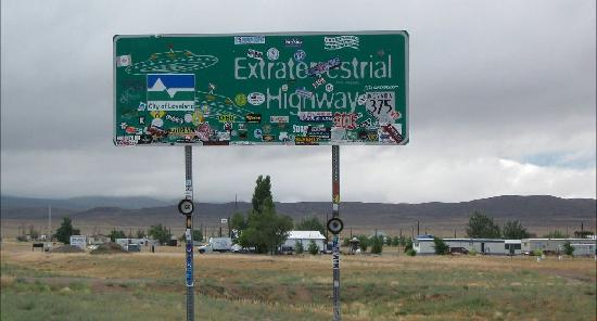 Little A'Le'Inn: Extraterrestrial Highway Sign