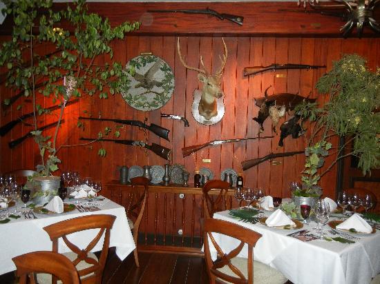 Hotel Casa da Montanha: Restaurante La Caceria