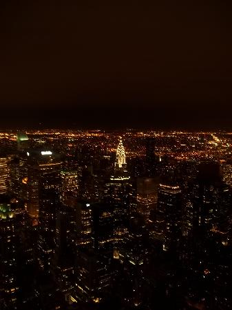 Empire State Building: Night view