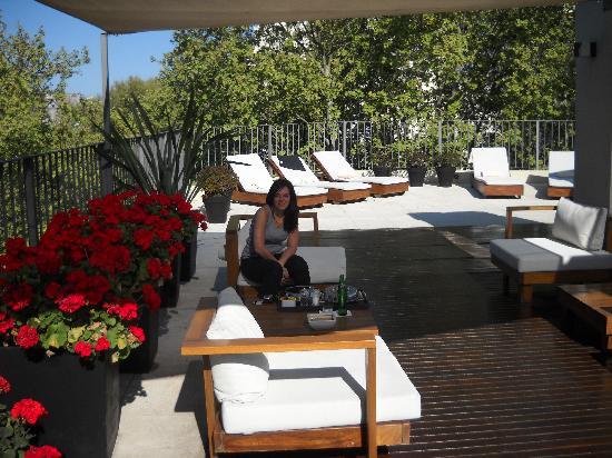 Nuss Buenos Aires: la terraza