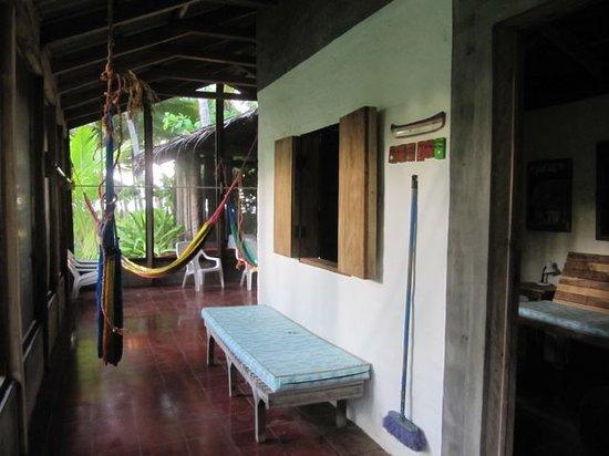 El Cuco, Salwador: hallway