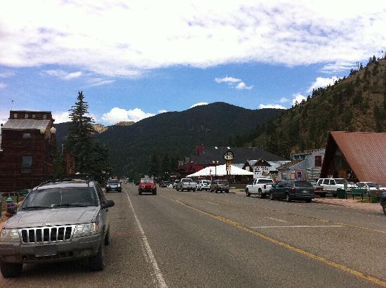 هوتل ريلاند: Our view to the West of the Lodge.