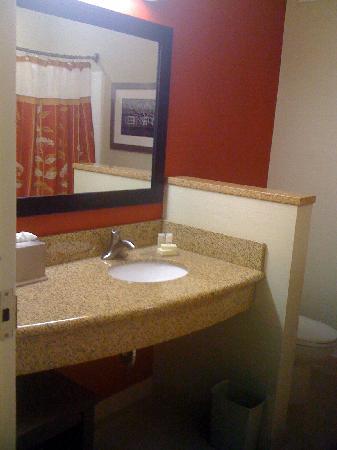 Courtyard by Marriott Fredericksburg Historic District: Bathroom 1