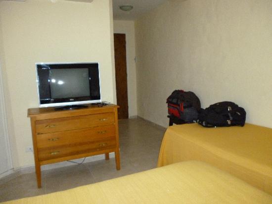 San Remo Punta Hotel : habitación