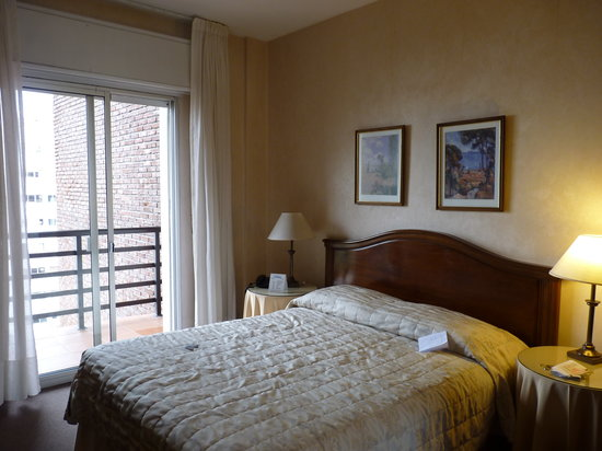 Ermitage Hotel: the room with couple bed