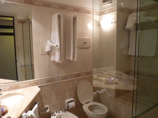 Ermitage Hotel: bathroom