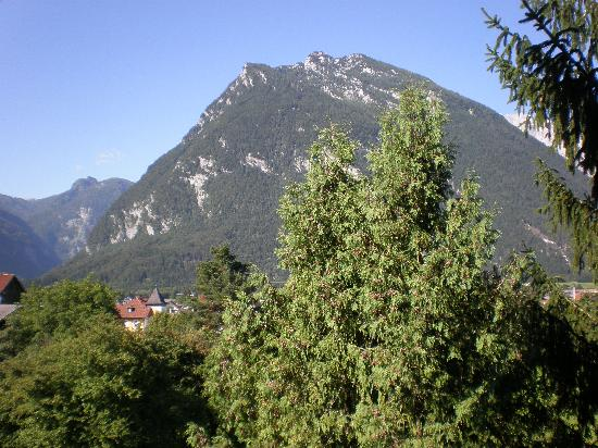 Hotel Hauslwirt : Mountain view from our room.