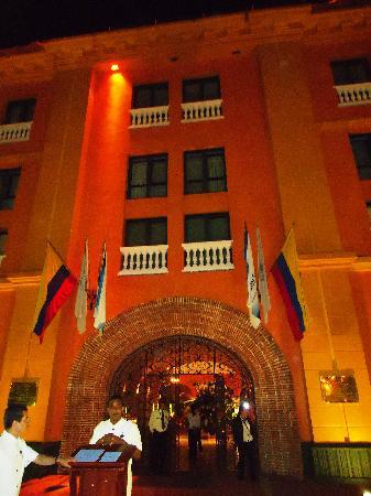 Charleston Cartagena Hotel Santa Teresa : Fachada principal