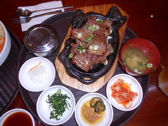 King Spa & Sauna: Yummy Korean food from the onsite restaurant