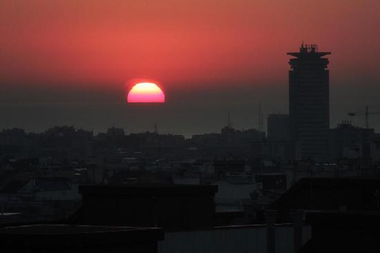 แกรนทอร์เรคาทาลันยาโฮเต็ล: Despertar con esta vista no tiene precio.