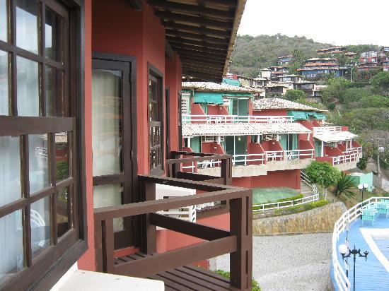 Coronado Inn : BALCON DE LA HABITACION