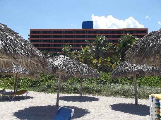 BelleVue Playa Caleta: view from ocean