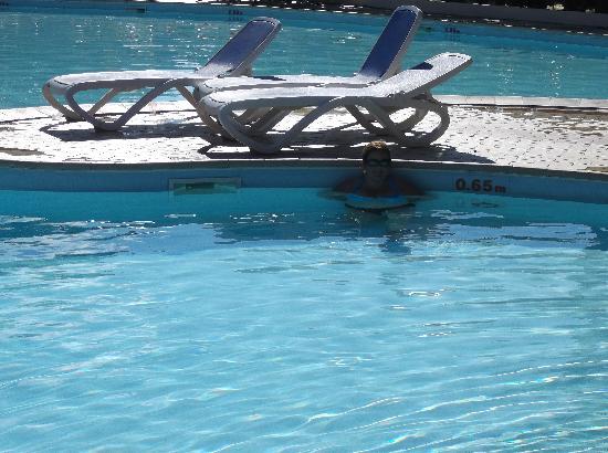 BelleVue Playa Caleta: pool depth .65 to 1.45