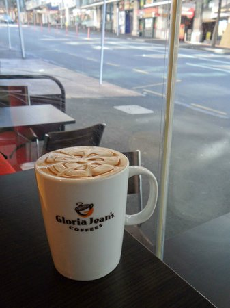 Perfection! - Picture of Gloria Jean's Coffee, Auckland Central