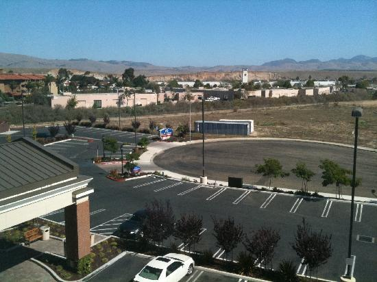 Fairfield Inn & Suites Santa Maria: Our View From Room 424 - Motel 6 In Background
