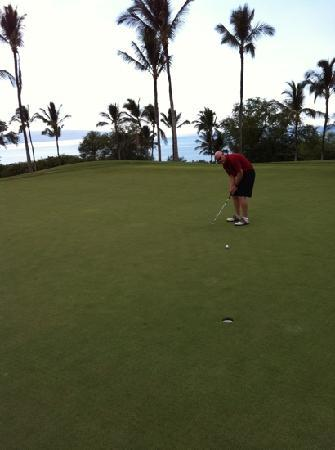Wailea Golf Club: # 18 green