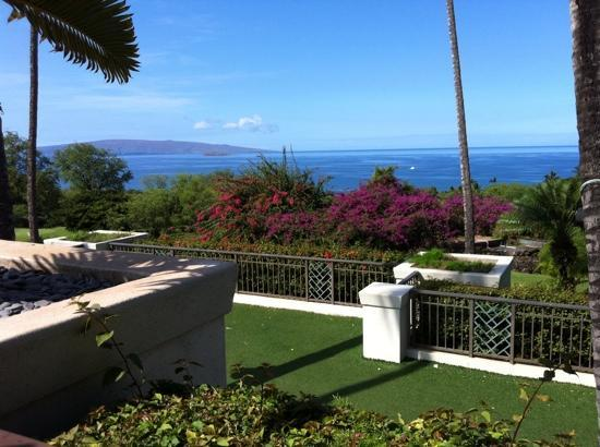 Wailea Golf Club: view from Gannons restaurant