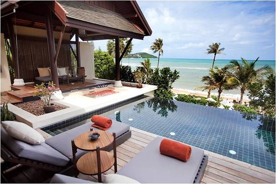 ‪‪Anantara Lawana Koh Samui Resort‬: Sea View Pool Villa‬